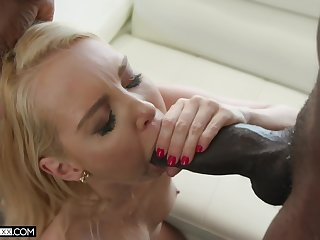 The size of the black flannel Aaliyah Love tackles is simply shocking