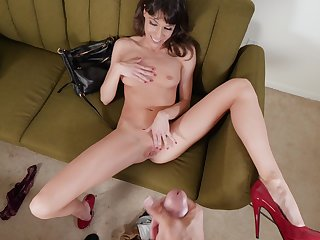 Excellent nude POV sexual congress with a skinny wife in excess of enlivening