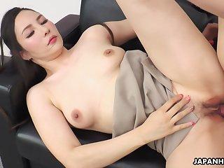 Japanese Office Lady Ai Kamijou Got Fucked Uncensored