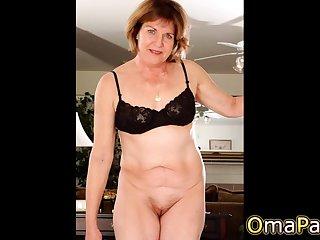 OmaPasS Super Hot Amateurish Grannies Compilation