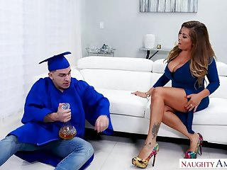 Juggy stepmom Alessandra Miller congratulates graduate stepson