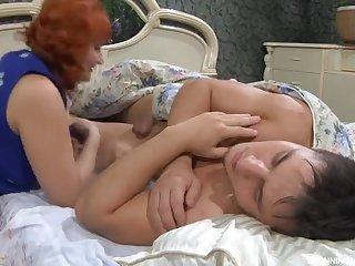 Pretty breasty adult generalized in cumshot XXX scene